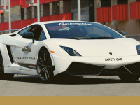 Lamborghini safety car for Eden Valley Hillclimb