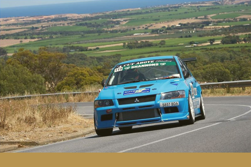 Daniel Smith's 2001 Mitsubishi Lancer Evolution VII will be a force to be reckoned with